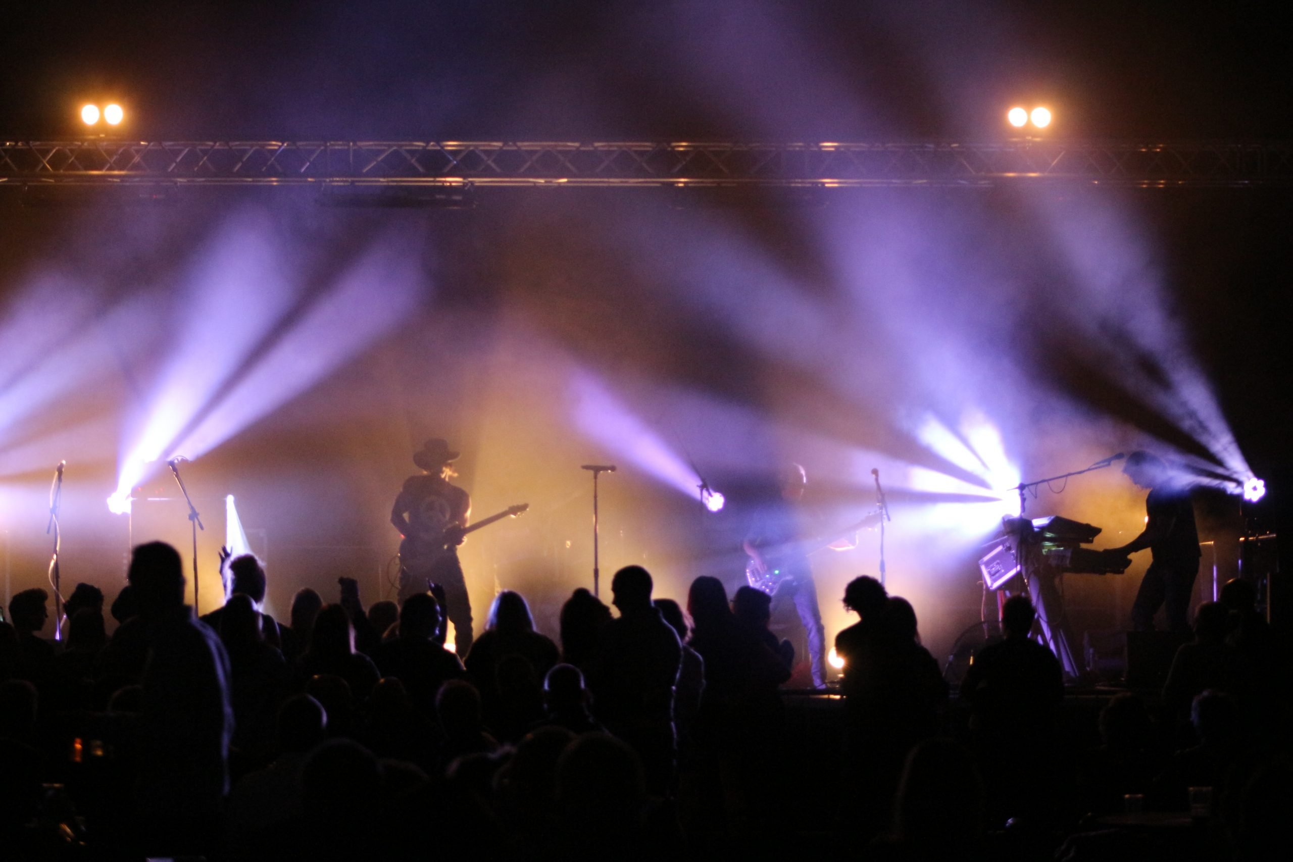 Music event at the Barnsley Metrodome